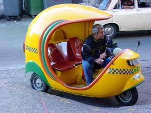 A coco taxi - Havana