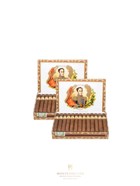 2 Boxes of 25 Bolivar Petit Coronas