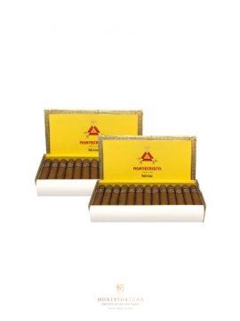 2 Boxes of Montecristo Media Corona