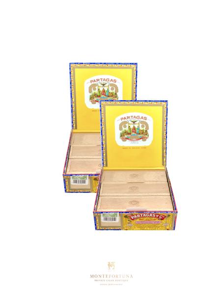 2 boxes of Partagas Culebras