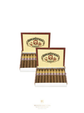2 Boxes of 10 DIplomaticos Nortenos