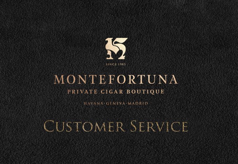 Montefortuna Customer Service