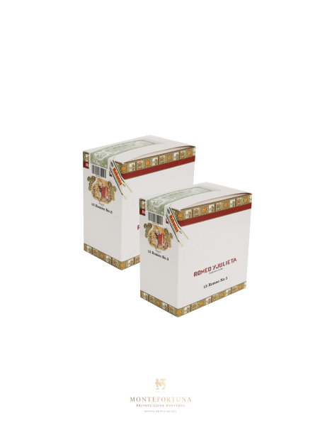 2 Boxes of 15 Romeo y Julieta Romeo No.3