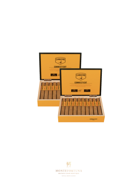 2 Boxes of 20 Camacho Connecticut Robusto