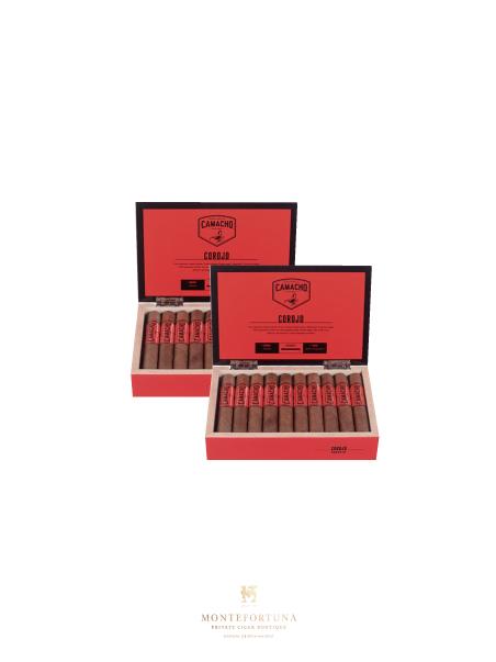 2 Boxes of 20 Camacho Corojo Robusto