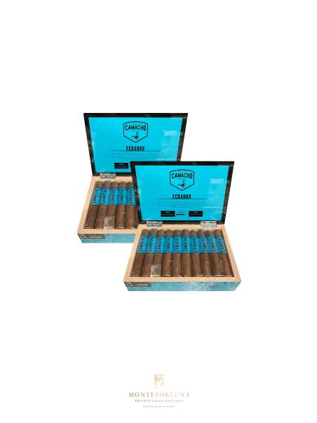 2 Boxes of 20 Camacho Ecuador Robusto