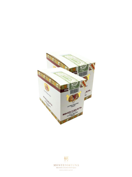 2 Boxes of 15 Romeo y Julieta Petit Royales Tubos Ex. Duty Free