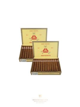 2 Boxes of 25 Montecristo No.4
