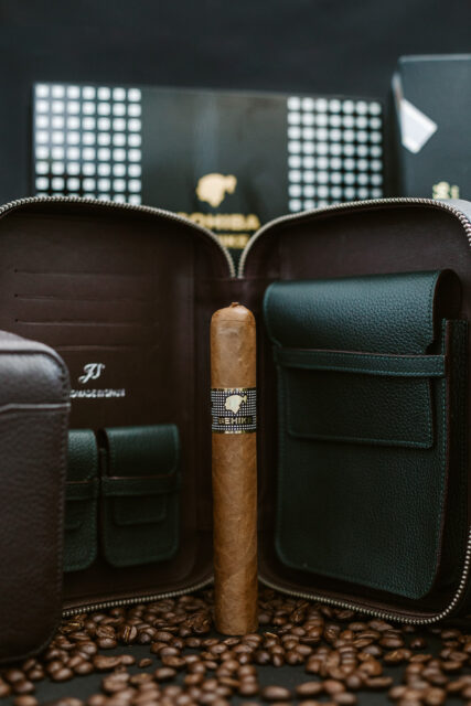 Cohiba Behike and JS leather Cases