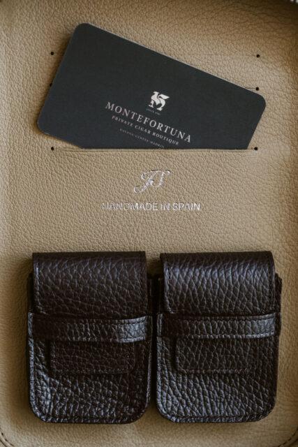 Javier Salgado Leather Cigar Cases