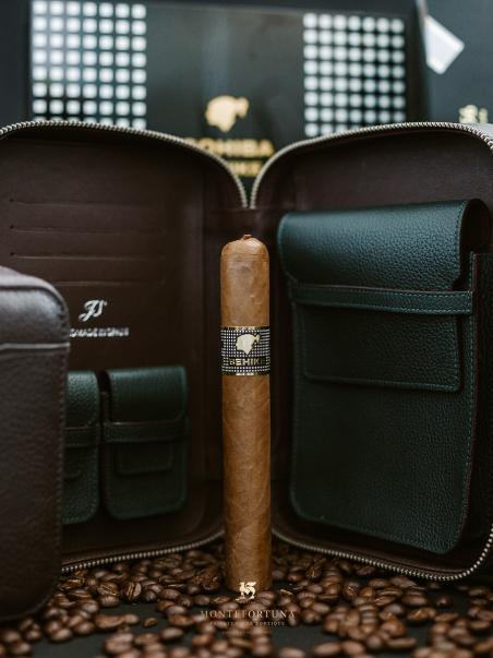Cohiba Behike + JS Leather Cases