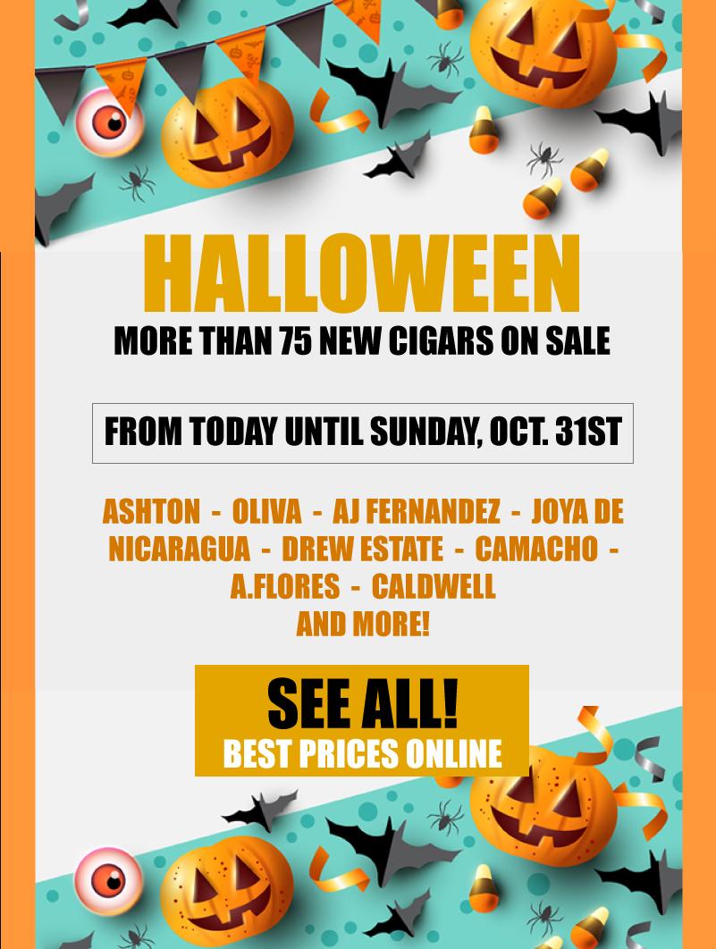 Halloween Sales Montefortuna Cigars